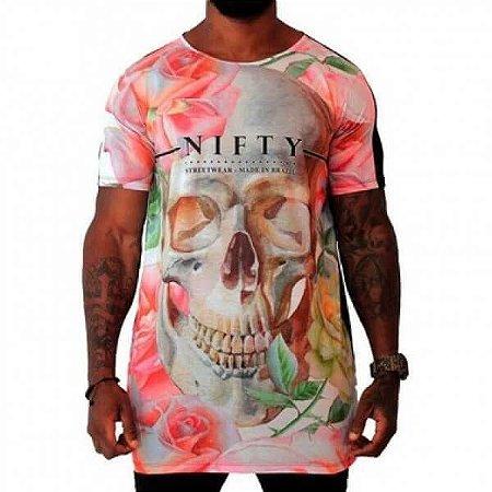 Camiseta Nifty Long Skull Light