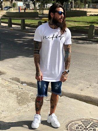 Camiseta Nifty UseNifty White/Black
