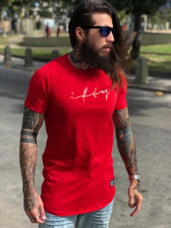 Camiseta Nifty UseNifty Red/Red
