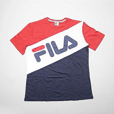 Camiseta Mas. Fila Blocked Oversize II