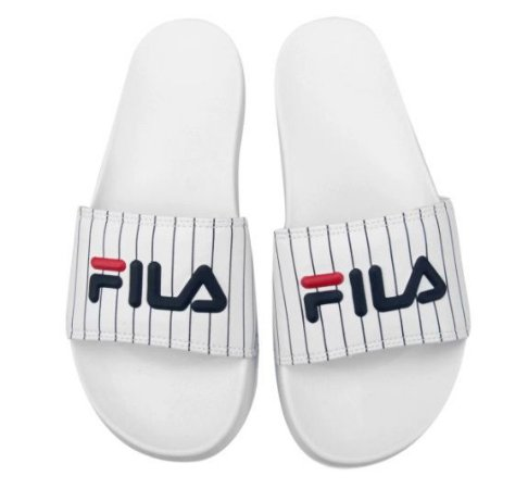 Chinelo Masc. Fila Drifter Basic White/Navy