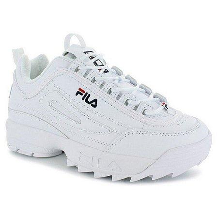 Tênis Fila Footwer Disruptor White/Navy/Red