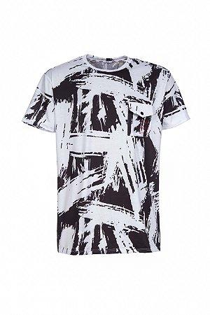 Camiseta LaMafia Branco/Preto