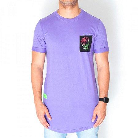 Camiseta Dabliu Costa Purple Skull Dab X Titto