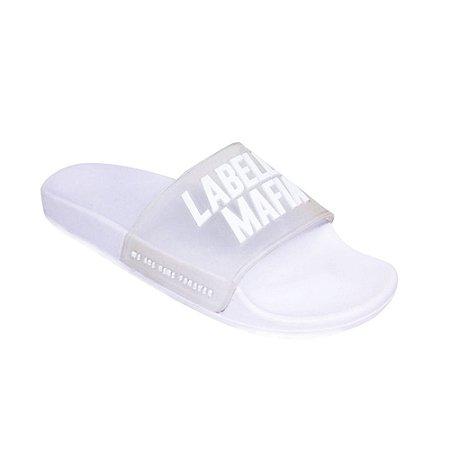 Chinelo Fem. Slide LabellaMafia Branco
