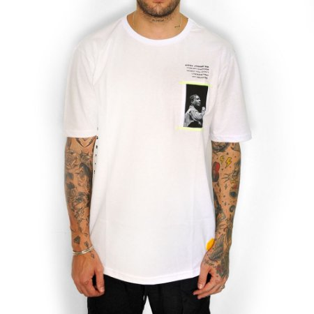 Camiseta Dabliu Dab Asap White