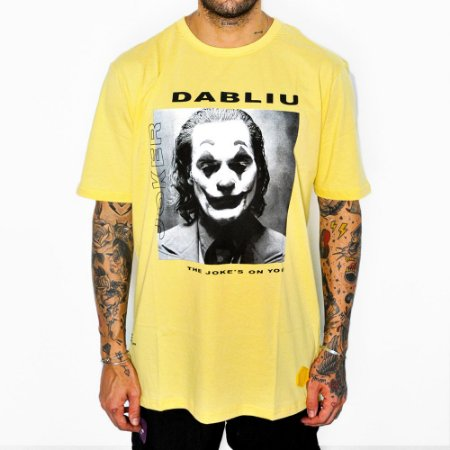 Camiseta Dabliu Costa Dabliu Joker Yellow