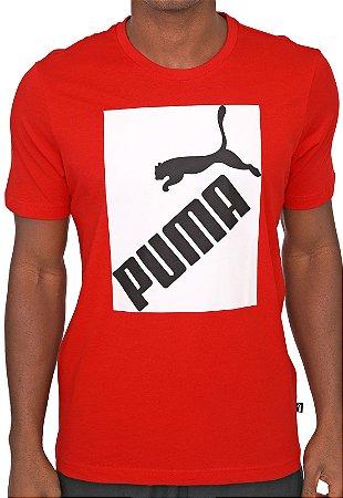 Camiseta Puma Big Logo tee Red