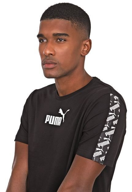 Camiseta Puma Amplified Black