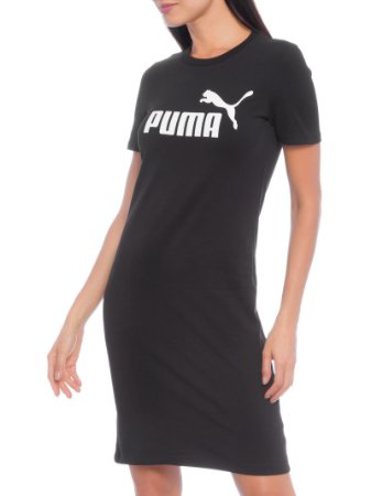 Vestido Puma Fitted Dress Black