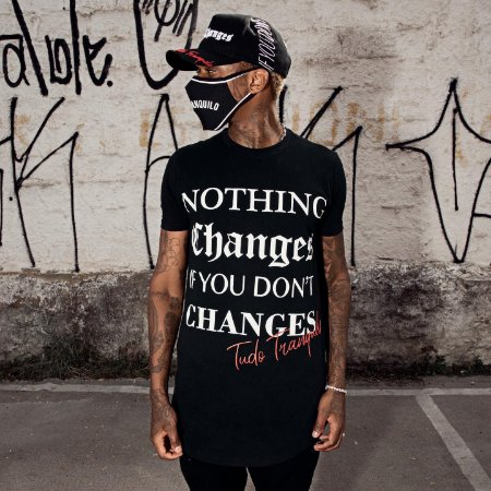 Camiseta Tudo Tranquilo  T-Shirt Changes