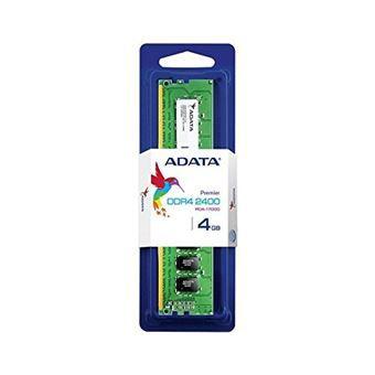 Memoria Ddr4 4Gb Adata 2400Mhz Ad4U2400W4G17S
