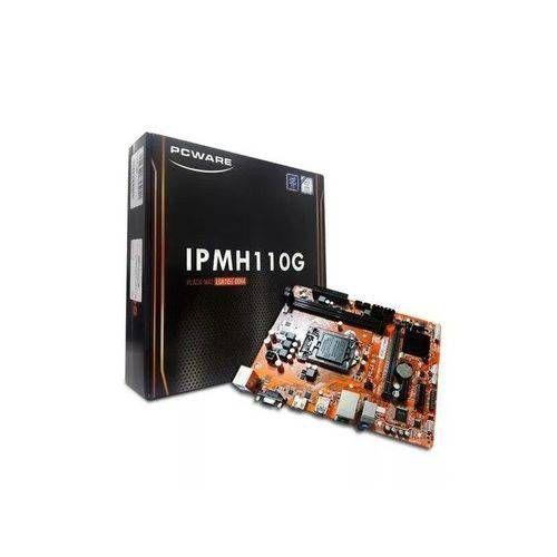 Placa Mãe Pcware IPMH110G 1151 (DDR4 2133Mhz / 4x USB 3.0 / PC-I)
