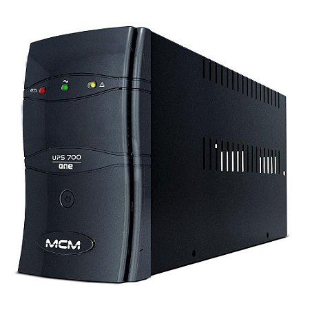 NOBREAK UPS 700VA MCM ONE 3.1 TRIVOLT/115V - MCM