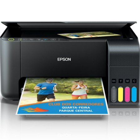 Multifuncional Epson EcoTank L3150, Jato de Tinta, Colorida, Wi-Fi, Bivolt - C11CG86302