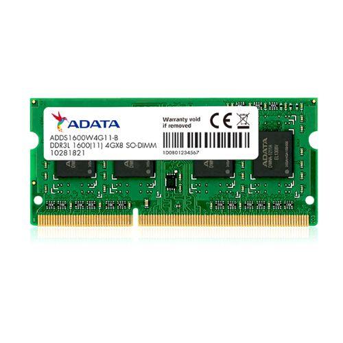 Memoria SODIMM DDR3L 4GB 1600 ADDS1600W4G11S