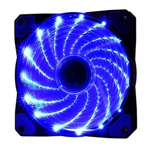 Cooler F20  Fan 15 Leds Azul Oex 12cm