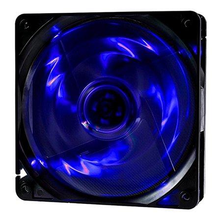 Cooler Fan OEX F10 4 LED Azul, 12cm