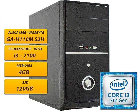 CPU Valianty PRO GAH110MS2H 4GB SSD120 I3 7100