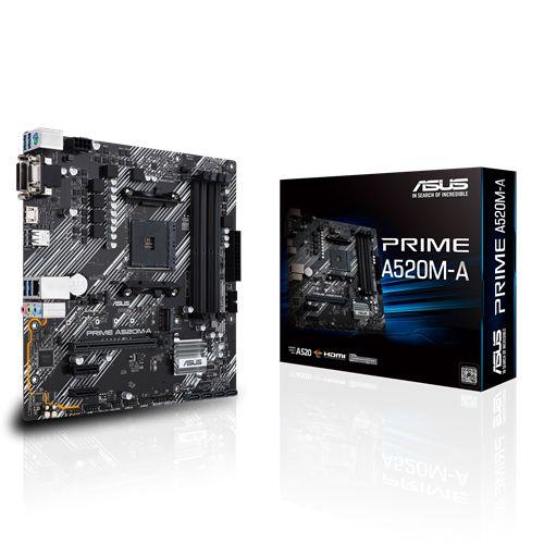 PLACA MAE ASUS PRIME A520M-E DDR4 SOCKET AM4 CHIPSET AMD, PRIME A520M-E