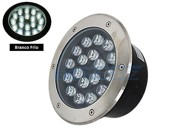 Luminária de chão Balizador de embutir LED 18W Branco frio a Prova d' água