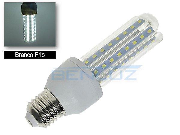 Lâmpada LED Milho 3U 12W Branco Frio 6500K