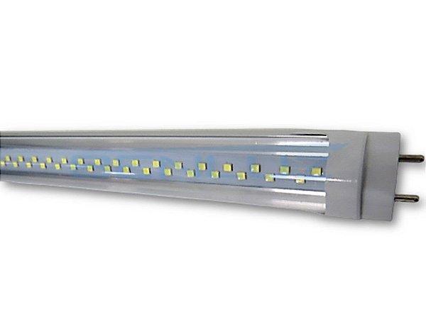 Lâmpada Tubular LED 9W Transparente T8 60cm