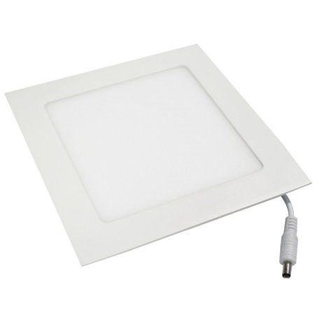 Luminária Painel Plafon LED 18W de Embutir Quadrado 22x22 Branco Frio