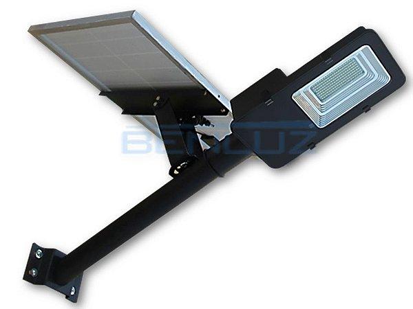 Luminária Pública Solar LED 100W Branco Frio