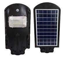 Luminária Pública LED 30W c/ Painel Solar