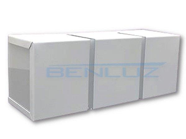 Arandela LED Branca Mille 7W Branco Frio
