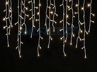 Cascata Fixa com 300 LEDs Fio Branco 7,0 Metros Branco morno 220V
