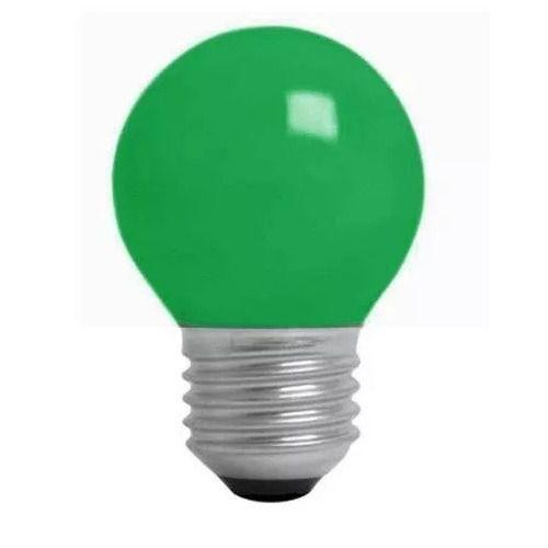 Lâmpada Bulbo 1W LED Bolinha Verde 220V