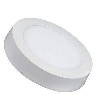 Luminária Painel Plafon LED 6W de Sobrepor 12x12 Branco Quente