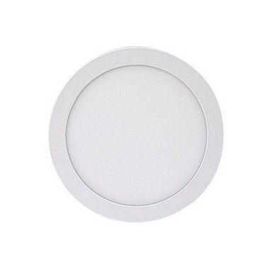 Luminária Painel Plafon LED 18W de Sobrepor 22x22 Branco Morno