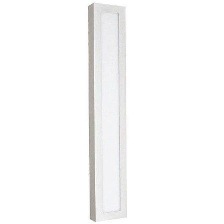 Luminária Painel Plafon LED 45W de Sobrepor 30x120 Branco Frio