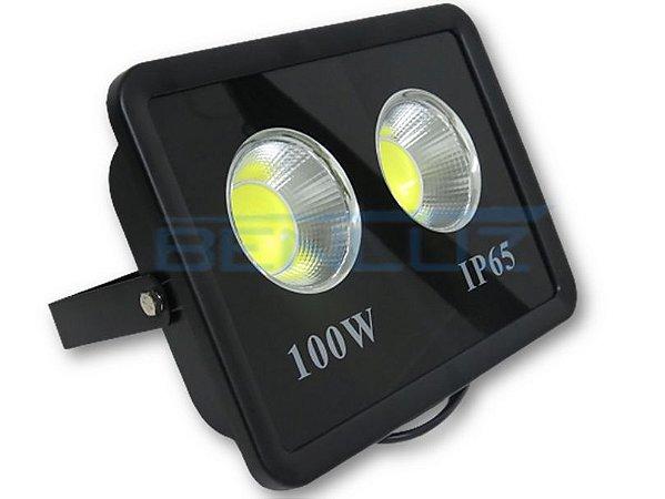 Refletor Holofote De LED Com Lente 100W Branco Frio IP65