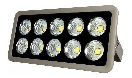 Refletor Holofote De LED Com Lente 500W - Branco Frio - IP65