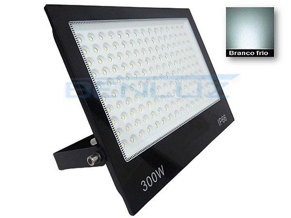 Refletor Holofote De LED 300W Branco Frio A Prova d'água