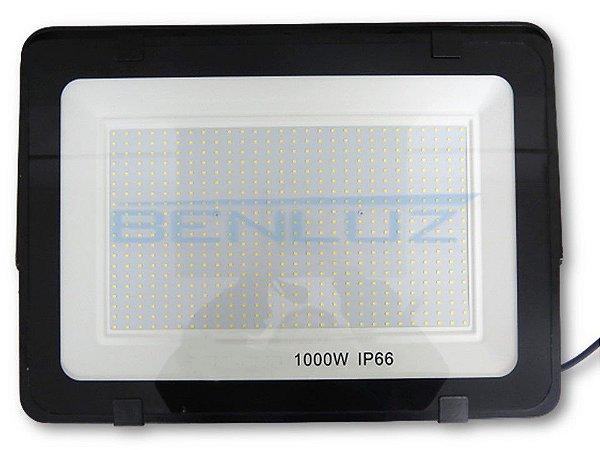 Refletor Holofote de LED SMD 1000W - Branco Frio A Prova d'água