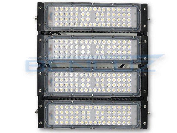 Refletor LED Modular 200W Branco Frio A Prova d' água