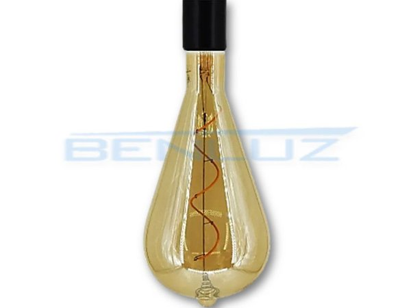 Lâmpada Filamento LED 4W A120S Branco Quente 2200K