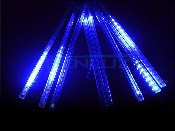 Tubo LED Snow Fall Individual 60cm Azul Bivolt