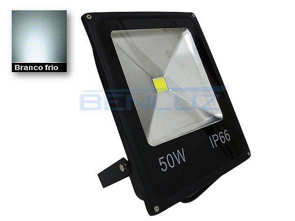 Refletor Holofote De LED 50W Branco Frio 24V A prova d'água