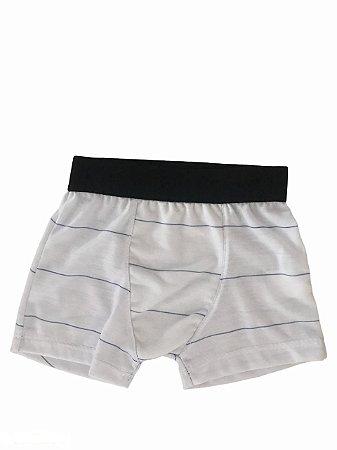 Cuecas Infantil Boxer - Listradas - P
