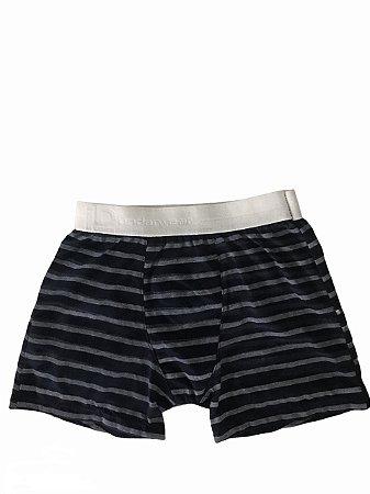 Cuecas Infantil Boxer - Listradas - M