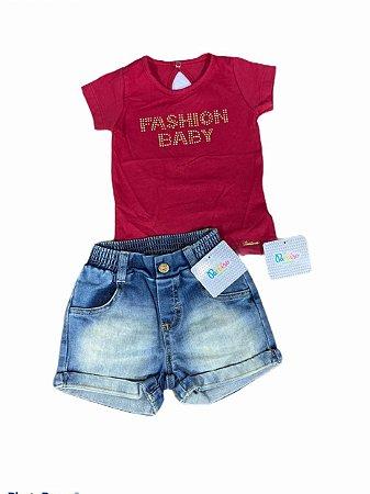 Conjunto Paraíso - Moda Bebê - Verão