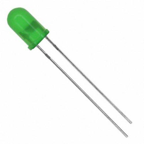 Led Difuso Verde 5MM – Pacote com 10 Unidades