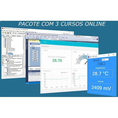 Pacote 3 Cursos Online