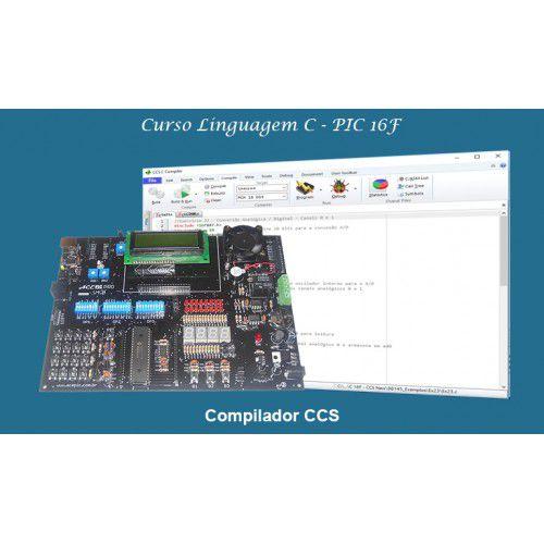 Curso CCS Módulo I (PIC16F) – Kit ACEPIC PRO V6.0 – Gravador ACEPIC USB